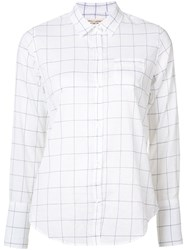 Nili Lotan Checked Shirt White
