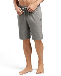 Hanro Luis Drawstring Sweat Shorts Light Gray