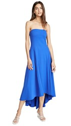 Susana Monaco High Low Strapless Dress Strobe