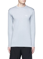 Athletic Propulsion Labs Seamless Long Sleeve Running T Shirt Grey