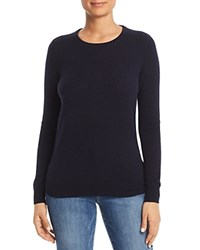 Bloomingdale's C By Crewneck Cashmere Sweater 100 Exclusive Navy