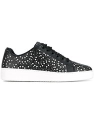 Alaia Perforated Sneakers Black