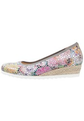 Gabor Wedges Stone Multicoloured