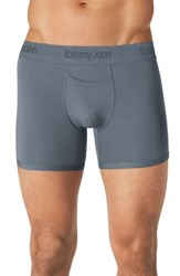 Tommy John 'Second Skin' Trunks Turbulence Grey