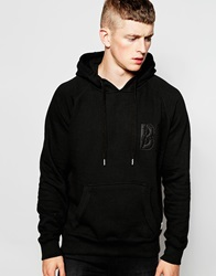 Bellfield Tracksuit Hoodie With Applique Black
