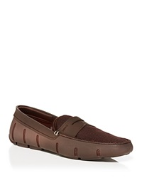 Swims Penny Loafers Brown