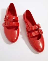 Melissa Vivienne Westwood Doll Flat Shoes Red