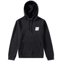 Undefeated Chest Strike Pullover Hoody Black