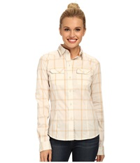 Arc'teryx Melodie L S White Papaya Women's Long Sleeve Button Up Neutral
