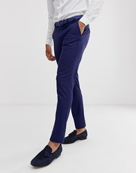 Selected Homme Slim Suit Trouser In Blue