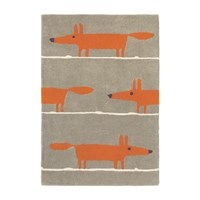 Scion Mr Fox Rug Cinnamon 120X180cm