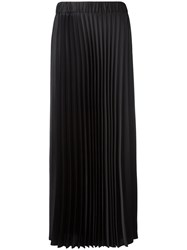 P.A.R.O.S.H. Long Pleated Skirt Black