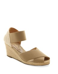 Andre Assous Erika Espadrille Wedge Sandals Taupe