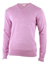 Cutter And Buck Merino V Neck Sweater Lilac