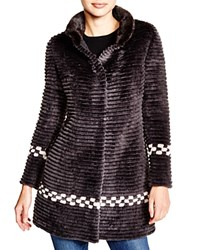 Maximilian Sheared Beaver Coat With Mink Collar Bloomingdale's Exclusive