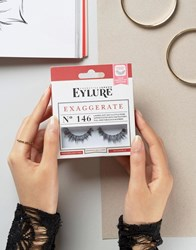 Eylure Exaggerate Lashes No. 146 Exaggerate No.146 Black