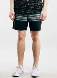 Topman Aztec Cut And Sew Shorts Multi