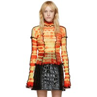 Asai Ssense Exclusive Red And Yellow Hot Wok Turtleneck