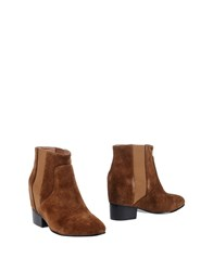 Bibi Lou Ankle Boots Brown