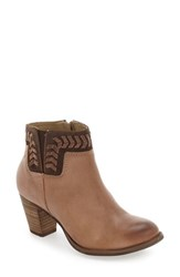 Olukai Women's 'Kamahoi' Block Heel Bootie Clay Leather
