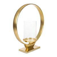 Amara Arch Candle Holder Gold