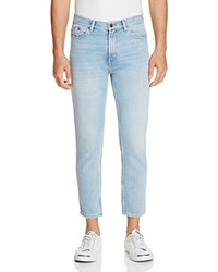 Hugo 332 Cropped Slim Fit Jeans In Light Pastel Blue 100 Exclusive