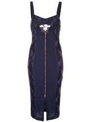 Alice Mccall Loveland Midi Dress Blue