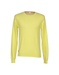 Fred Mello Knitwear Jumpers Men Yellow