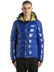 Invicta Glossy Nylon Down Jacket Royal Blue