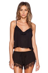 Lovers Friends Breakfast In Bed Camisole Black