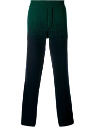 Missoni Gradient Effect Trousers Green