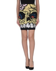 Jeremy Scott Mini Skirts Yellow