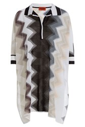 Missoni Chevron Knit Tunic Multicolor