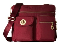 Baggallini Gold Sydney Berry Handbags Burgundy