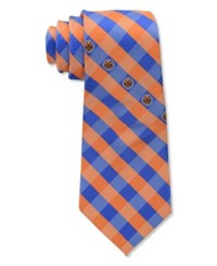 Eagles Wings New York Knicks Checked Tie Team Color