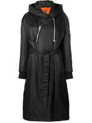 Bacon Belted Down Coat Black