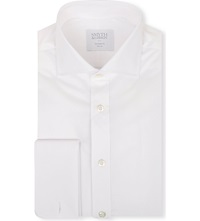 Smyth And Gibson Tailored Cotton Shirt White