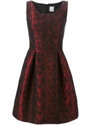 Eggs 'Adrian' Dress Red