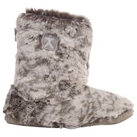 Bedroom Athletics Cole Faux Fur Slipper Boots Snowy Owl