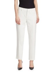 Saks Fifth Avenue Modern Ankle Pants Ivory