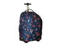 Jansport Driver 8 Navy Sweet Blossom Luggage