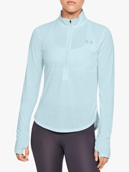 Under Armour Streaker Half Zip Running Top Rift Blue