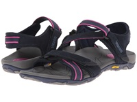 Vionic With Orthaheel Technology Muir Vionic Sport Recovery Adjustable Sandal Navy Berry Women's Sandals