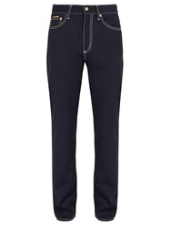 Eytys Cypress Wool Blend Trousers Navy