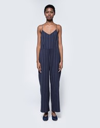 Ganni Oakwood Jumpsuit Total Eclipse