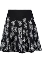 Opening Ceremony Jacquard Knit Mini Skirt Black