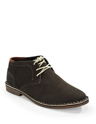 Kenneth Cole Reaction Desert Suede Chukka Boots Dark Grey