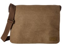 Hex Messenger Infinity Khaki Messenger Bags Brown