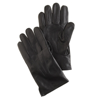 J.Crew Cashmere Lined Leather Smartphone Gloves Black