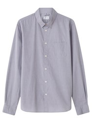 Jigsaw Chambray Shirt Grey